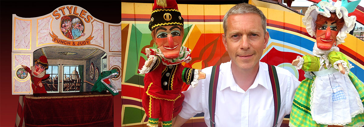 Robert Styles, Punch & Judy performer